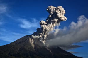 Evacuation Zone Expanded As Mount Sinabung Continues To Erupt