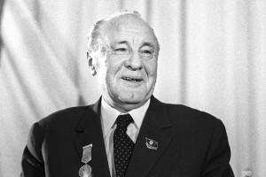 First Secretary of the HSWP CC Janos Kadar