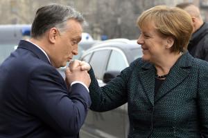 Orbán Viktor; MERKEL, Angela